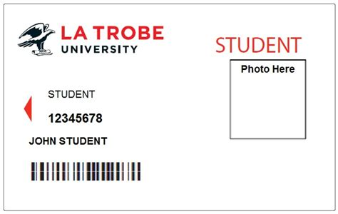 Library Id Card Template by Student Id Cards Student Admin La Trobe