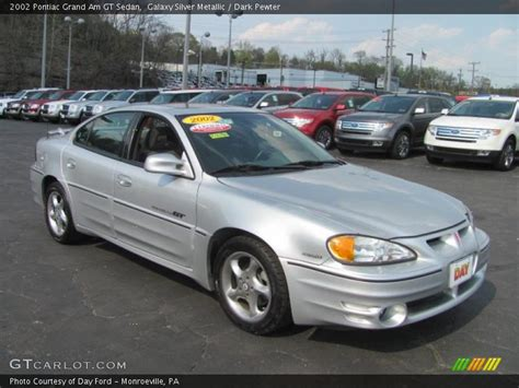 Pontiac Grand Am Gt 2002 by 2002 Pontiac Grand Am Gt Sedan In Galaxy Silver Metallic