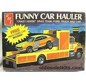 AMT 1/25 Funny Car Hauler Ford LN 8000 Race Care