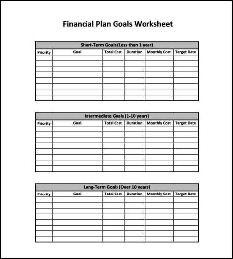 9 financial planning fact finder template template
