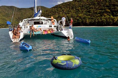 virgin island catamaran charters breanker crewed catamaran charter virgin islands