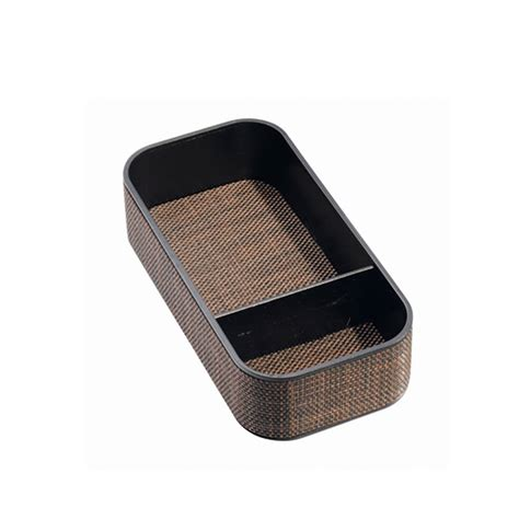 wicker desk tidy tray by jodie byrne notonthehighstreet com
