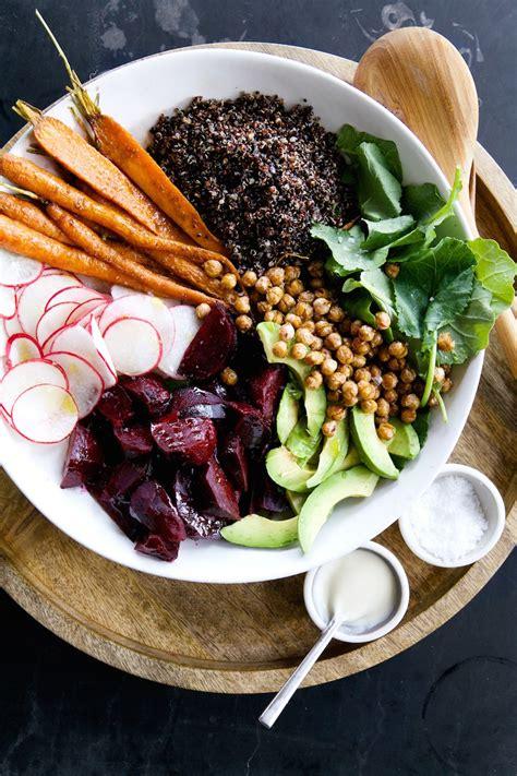 root vegetable salad quinoa root vegetable salad