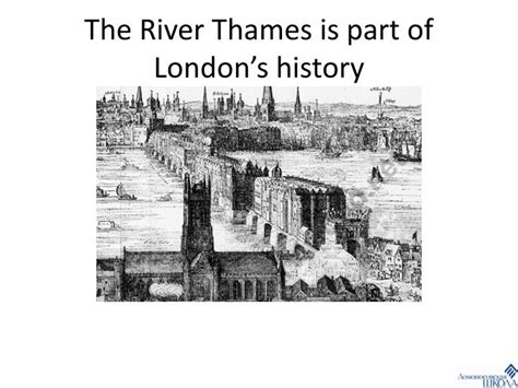 thames river name origin ppt the history of london powerpoint presentation id