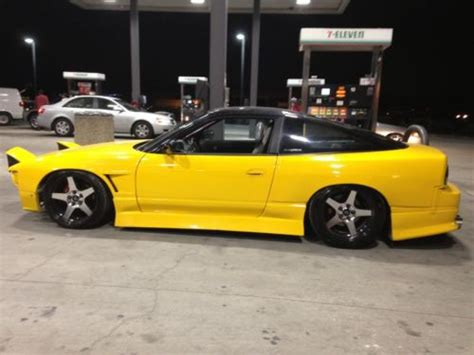 widebody nissan 240sx buy nissan 240sx widebody s13 with sr20det roll cage