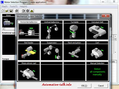 servo motor selection software how to select servo motor for projects using free tool