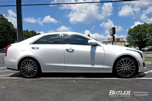 Cadillac Ats 19 Inch Wheels Cadillac Ats With 19in Tsw Chicane Wheels Exclusively From