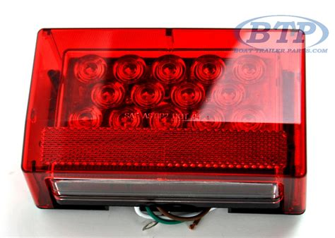 Submersible Led Trailer Lights by Submersible Led Boat Trailer Light Right Standard Mount