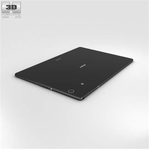Tablet Sony Xperia Z4 Lte sony xperia z4 tablet lte black 3d model hum3d