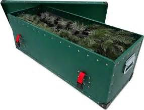 Xmas Tree Storage Container - christmas tree storage box container case made in uk in