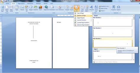 cara membuat halaman di word tanpa cover membuat cover skripsi laporan tanpa ada nomor halaman oleh
