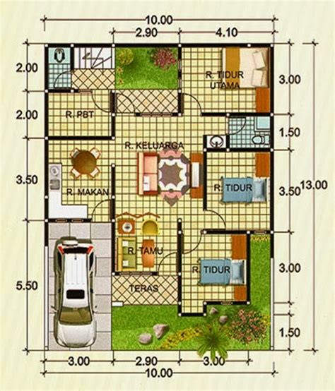 layout rumah 8 x 10 design rumah minimalis ask home design