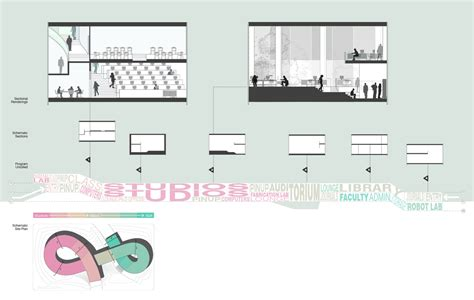 program section a new ucla school of architecture amelia wong archinect