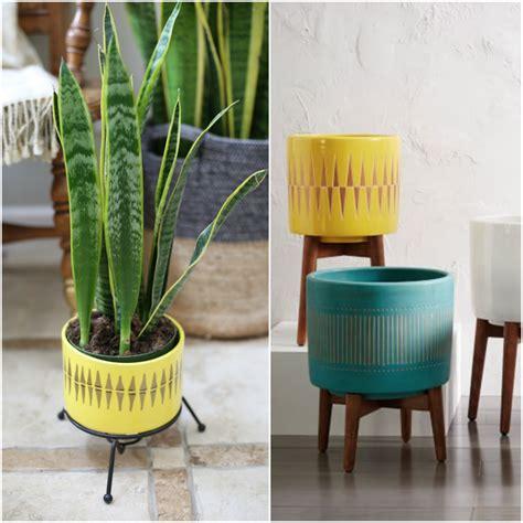 hello diy mid century planter lisa leonard designs blog