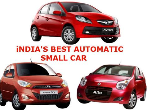 Best Automatic Small Car In India   Comparison   A Star