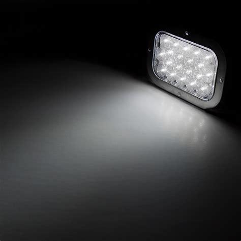 rectangle led lights 6 quot rectangle led back up truck trailer lights with built
