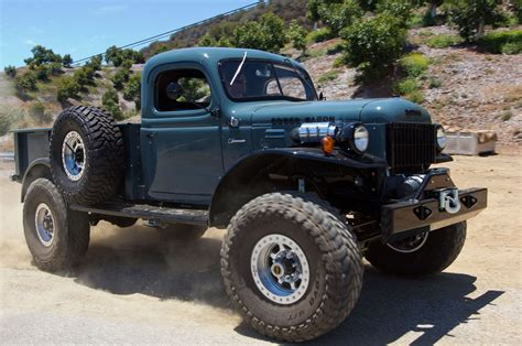 old dodge truck 4x4 gallery 1949 dodge power wagon 4x4 pickup custom tuning retro