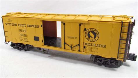 Railway Car Metal Diskon lionel great northern steel sided reefer car in original box