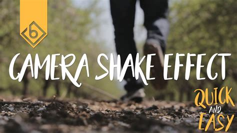 shake after effects easy way to create shake effect adobe