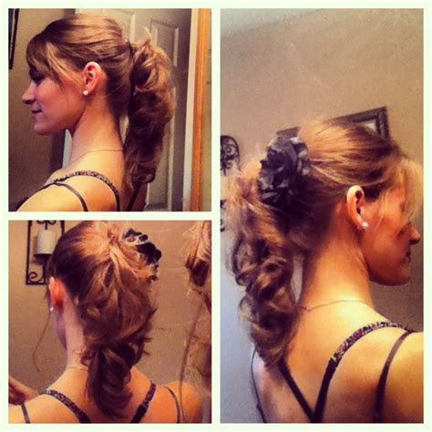 hair done up in a banana clip banana clip up do it hair nails and makeup pinterest