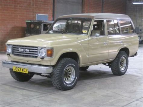Auto Upholstery Repair Los Angeles Buy Used 1986 Toyota Land Cruiser 12h T Straight 6