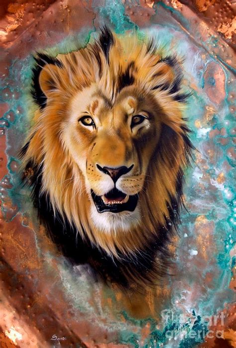 imagenes de leones al oleo imagenes de caras de leon imagui