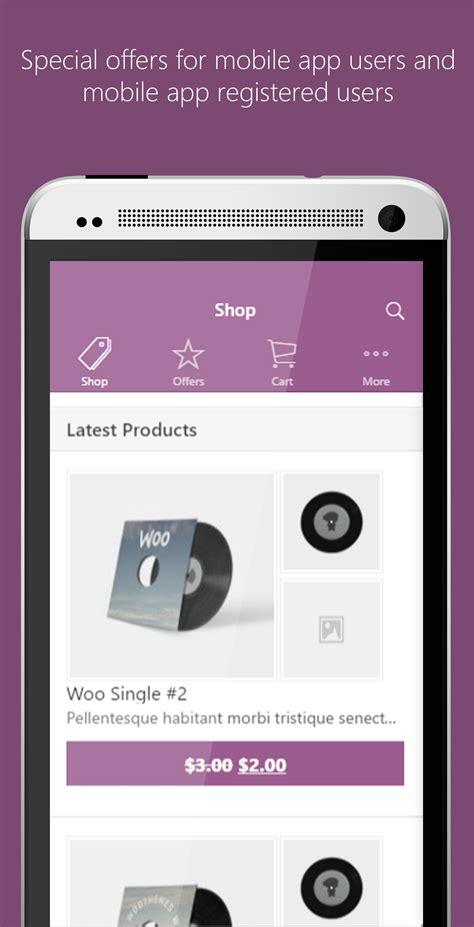 titanium app templates ionic woocommerce mobile app template codester