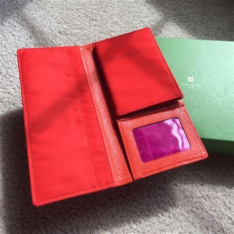 Kate Spade Passport 5 58 kate spade handbags kate spade orange wallet w