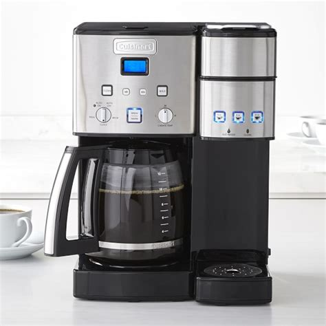 Coffee Maker Merk Sharp cuisinart glass coffee center williams sonoma
