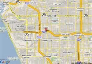 inglewood california map map of best value inn and suites inglewood inglewood