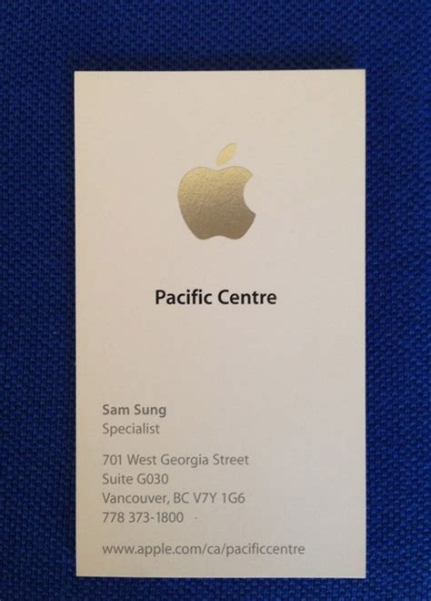id card design mac wikitree 이베이에 올라온 애플 직원 sam sung 명함