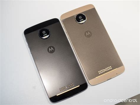 Moto Z Moto Z And Moto Z Droid Edition What S The
