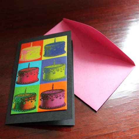 How To Make A Birthday Gift With Paper - handmade birthday cards using gift wrap loulou downtown