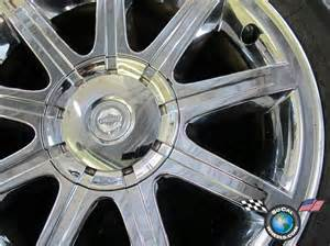 Chrysler Chrome Wheels 05 06 Chrysler 300 300c Factory 18 Quot Chrome Clad Wheels