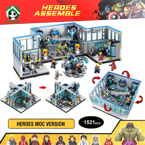 Promo 1 Set Marvel Avenger Heroes 8pcs Heroes Dlp9050 T popular lego marvel sets buy cheap lego marvel