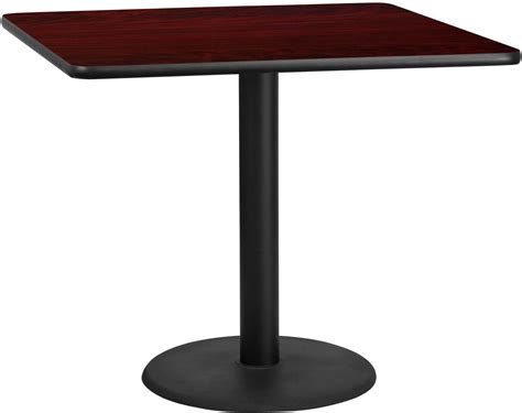 42 square table top 42 quot square mahogany laminate table top with 24 quot