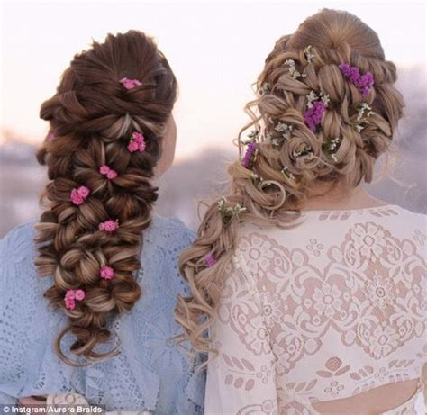 Whimsical Hairstyles by Plaiting Their Way To Instagram Fame