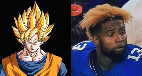 what does odells hair look like i don t know why people are making fun of odell beckham jr