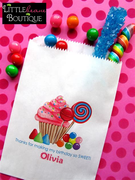 personalized candy bags  sweet candy favor bags candy