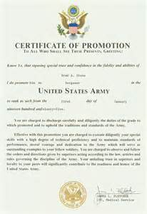 certificate of promotion template brad s projects