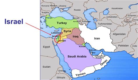 middle east relations map looking for the blessed a for israel and
