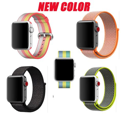 Big Sale Apple Sport Band 38mm 42 Mm yifalian series 3 2 1 woven sports band for apple sport loop edition 38mm 42mm