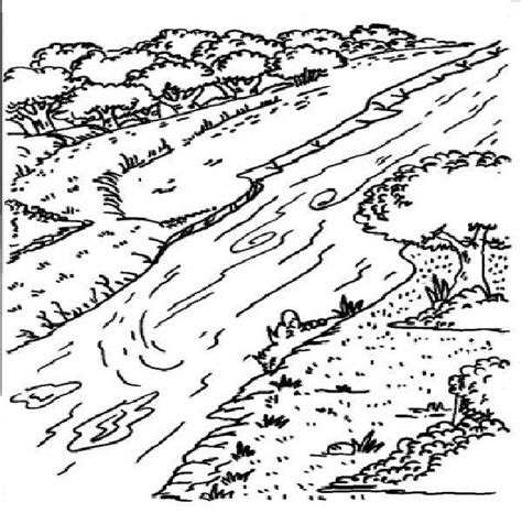 coloring page river l29 nile river coloring pages for k history