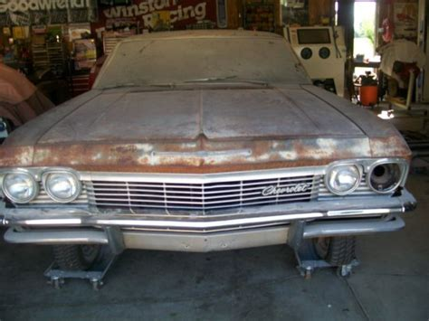 1965 impala parts for sale 1965 chevrolet impala 2 door hardtop project comes with