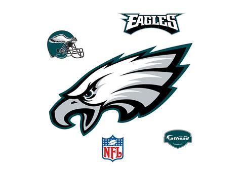 Discounted Home Decor philadelphia eagles logo wall decal shop fathead 174 for