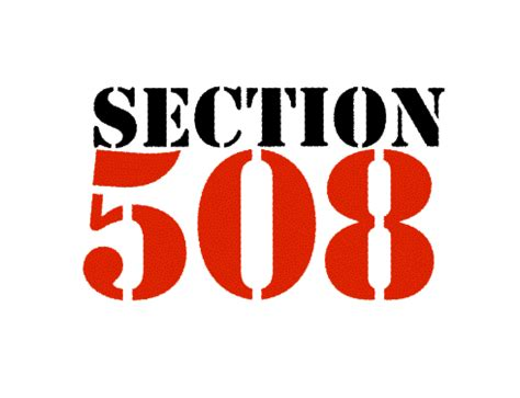 section 508 law accessible documents for 508 compliance braille works