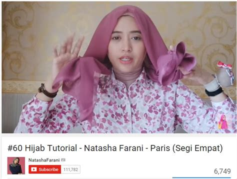 tutorial hijab paris simple natasha farani tutorial hijab jilbab paris ala natasha farani dream co id