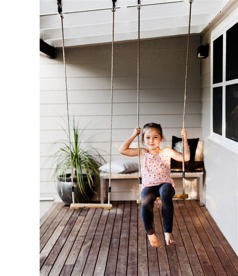 put there in the front yard swing webster and family the design files australia