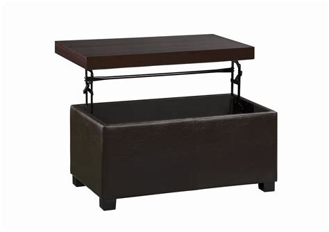 leather lift top ottoman essential home lift top storage ottoman shop your way
