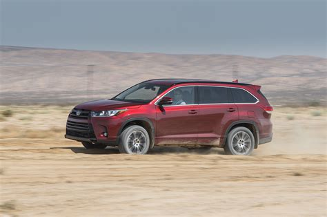 Toyota Se 2017 Toyota Highlander Se Awd Test Review